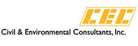 Logo for Civil & Environmental Consultants